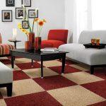 Xu hướng sử dụng thảm trang trí phòng khách hot nhất hiện nay
