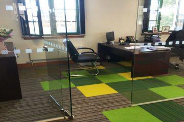Gợi ý những mẫu thảm trải sàn văn phòng tiện ích nhất