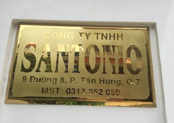 Một số mẫu biển công ty đồng inox được ưa chuộng hiện nay