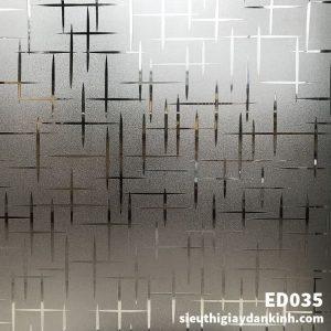 Decal dán kính 3D ED035